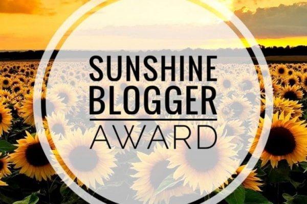 SUNSHINE BLOGGER AWARD 2020