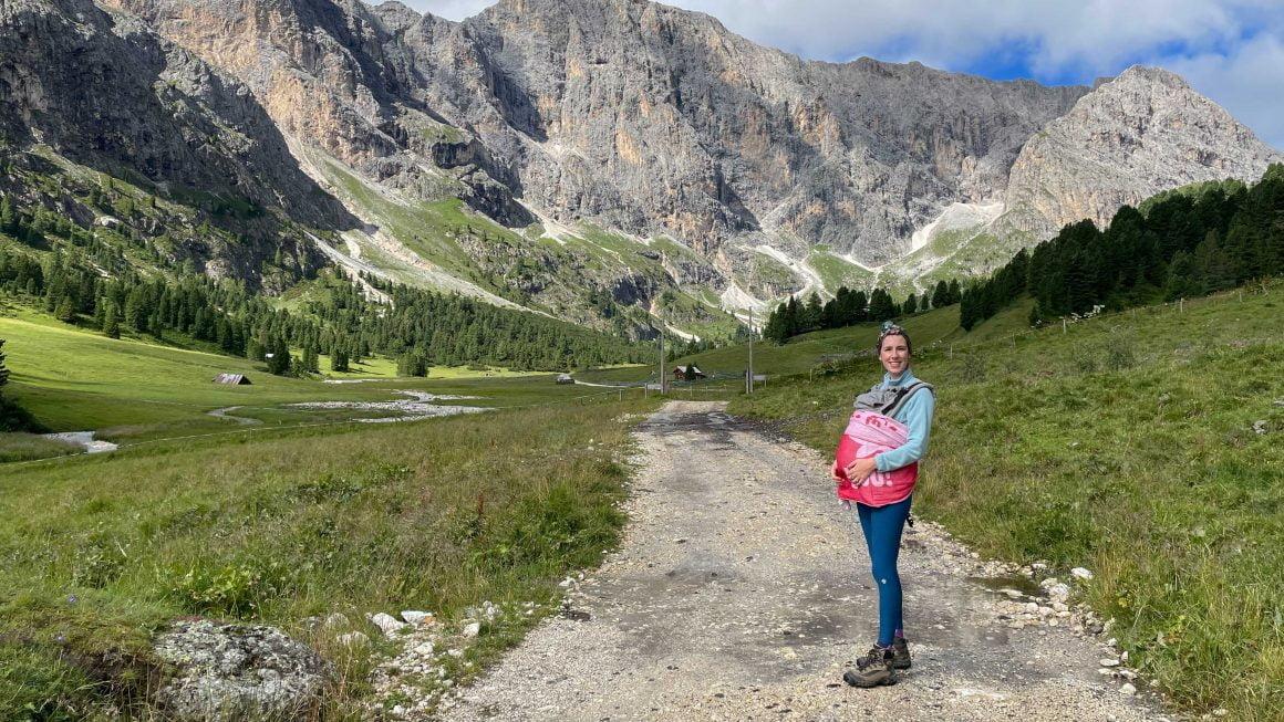 Val di Fassa con neonati: escursioni senza impianti di risalita