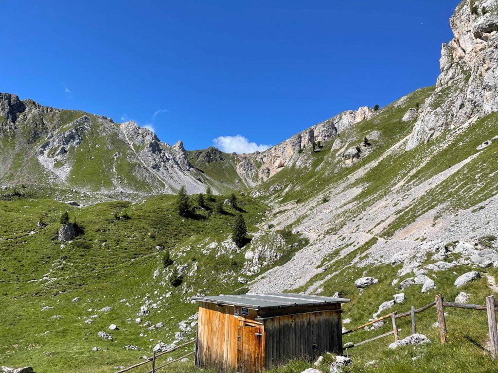 Panorama dal rifugio Vallaccia.