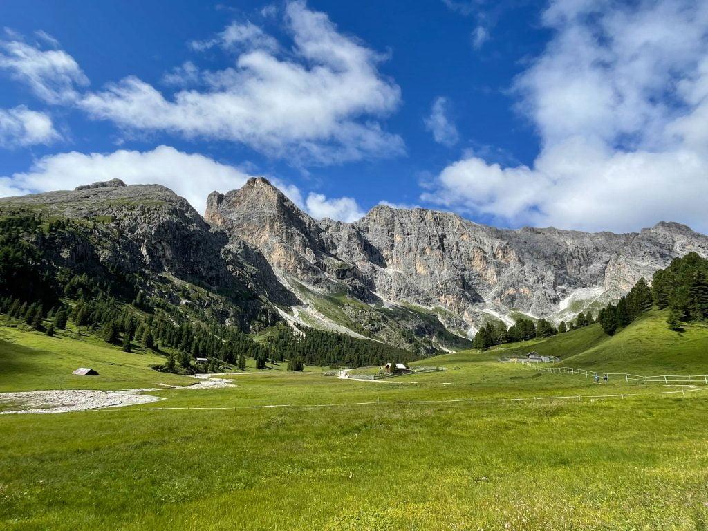 Val Duron verso la fine della valle.